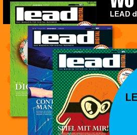 """3x Zeitschrift """"Lead"""" kostenlos"""