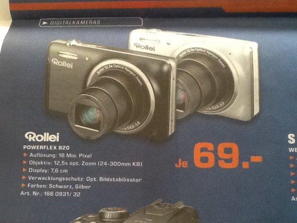 Rollei Powerflex 820 SuperZoom 69€ @ Saturn on- und offline