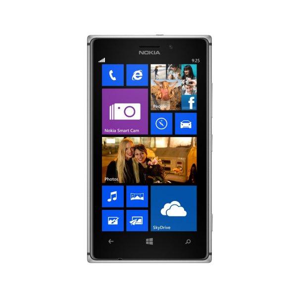 "Nokia™ - Lumia 925 Smartphone (4.5"" AMOLED 1280x768,8.7MP/AF/D-LED Cam,16GB,LTE,NFC,WP 8) für €337,89 [@Gravis]"