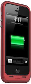Mophie Juice Pack Plus RED für iPhone 5 (2100mAh)