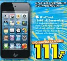 Apple iPod Touch 4G 16GB für 111€ (lokal, Ratingen)