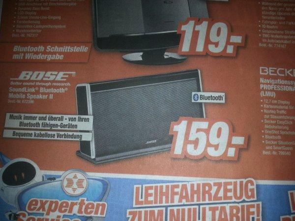 (Lokal? Singen HEM) Bose SoundLink Mobile Speaker 2 für 159€