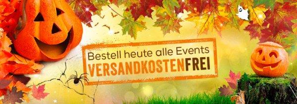 Verandkostenfrei bestellen bei Eintrittskarten.de - nur Heute