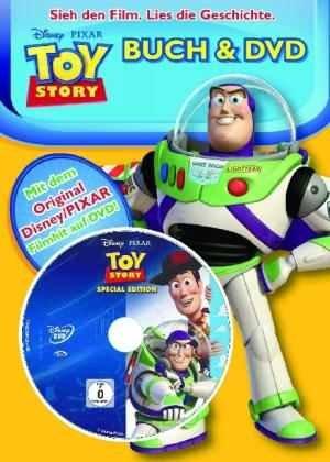 Toy Story Buch 1 oder 2 mit DVD