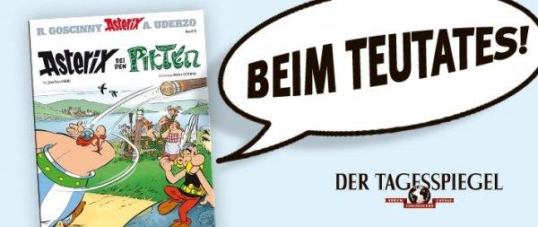 1 Woche Tagesspiegel ePaper und neuer Asterix-Comic (selbstkündigend)