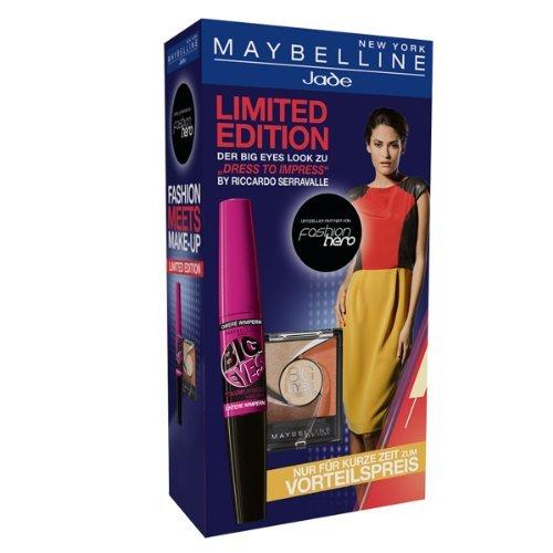 Maybelline Jade Fashion Hero - Big Eyes Mascara & Eyeshadow 01 brown