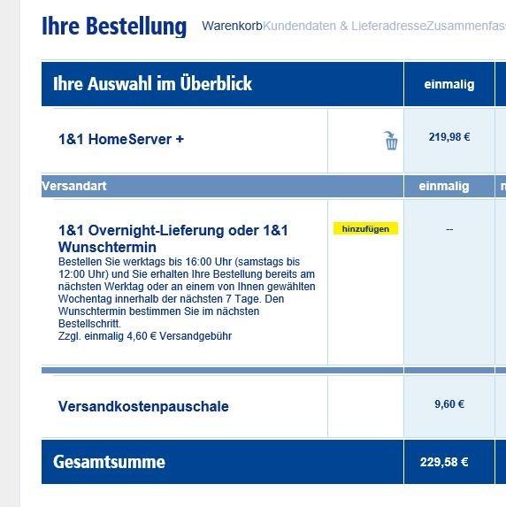 FritzBox 7490 für 1&1-Kunden für 230 EUR (Vergleichspreis 290 EUR)