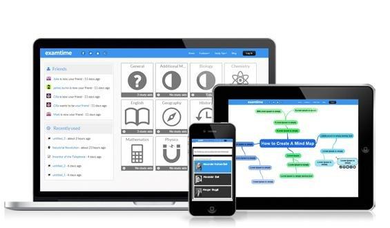 Kostenlose Lernhilfen wie Karteikarten und Mindmaps Online
