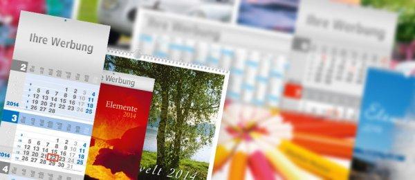 kostenlose Kalender 2014 bei Walter Medien - nur für Handel und Gewerbe - bis zu 3 Stück gratis und versandkostenfrei, große Auswahl & gute Qualität!