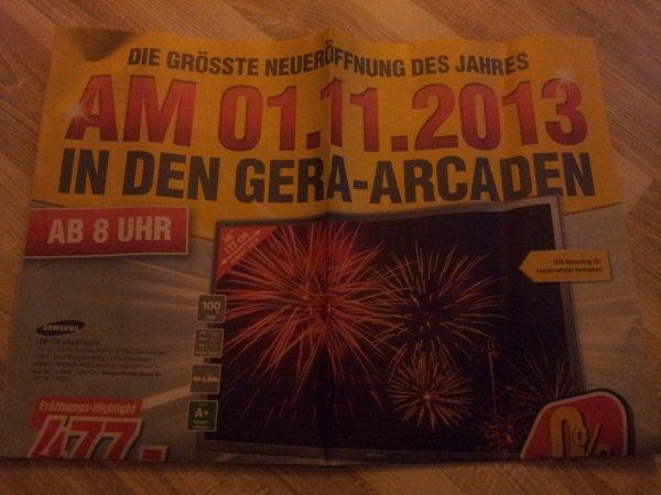 [lokal]  medimax gera neö am 01.11.2013 -  z. b.  samsung ue55f6420