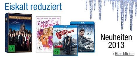 Filmangebote eiskalt reduziert @Amazon.de: 5 Tages Aktion (01.11. – 05.11.)