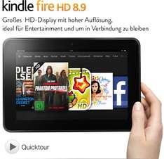 Amazon: Kindle Fire HD 8.9-Tablet