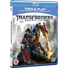 (UK) Transformers 3: Dark Of The Moon - Double Play (Blu-ray)  für 7,12€ @ Play