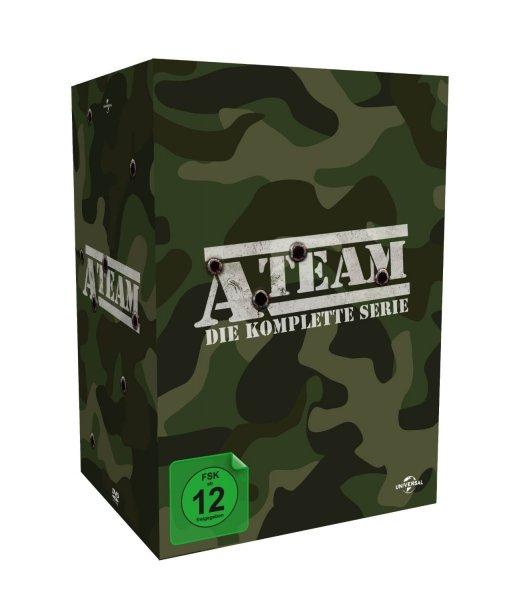 A-Team - Komplette Serie auf 27 DVDs oder Miami Vice auf 30 DVDs für nur 28,97 EUR inkl. Versand