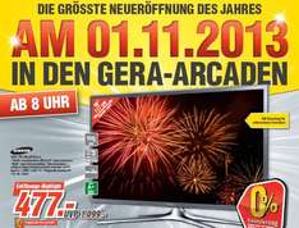 [Medimax Gera]  Samsung UE46F6270 117 cm (46 Zoll) LED-Backlight-Fernseher, EEK A+ (Full HD, 100Hz CMR, DVB-T/C/S2, CI+, WLAN, Smart TV, HbbTV) silber  477€