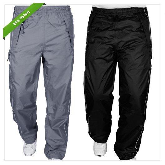[Hoodboyz] Regenhose für Motorradfahrer oder andere Outdoor'er / schwarz oder grau