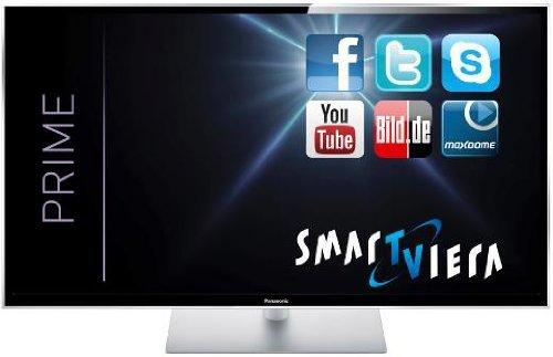 Panasonic TX-P50STW60 127 cm (50 Zoll) 3D Plasma-Fernseher, EEK C (Full HD, 2500Hz ffd, DVB-S/-T/-C, Smart TV, WLAN, USB) schwarz für 888 € @ media park Greven!(Lokal)