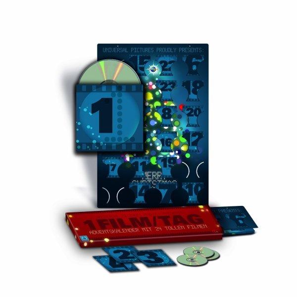 DVD Adventskalender mit 24 DVDs für 24,97 EUR inkl. Versand