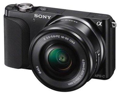 Sony NEX-3NL Systemkamera mit 16-50 mm Objektiv
