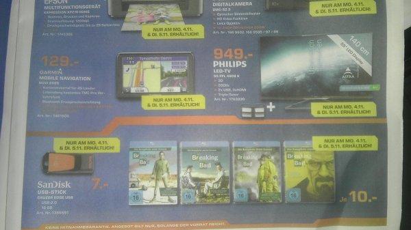 ( Lokal Wuppertal ) Saturn : Breaking Bad 1- 4 Blu Ray je 10€ am 4. und 5.11