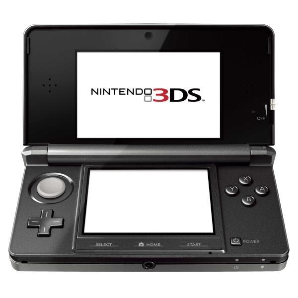 Nintendo 3DS cosmic black [Nur für Engländer interessant]