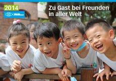 """kostenloser Kalender 2014 """"Zu Gast bei Freunden in aller Welt"""" vom Berliner Missionswerk -versandkostenfrei -"""