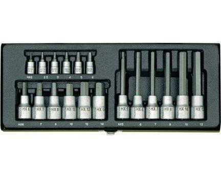 Proxxon Steckschlüsselsatz 18-tlg. 23100 Inbus Innensechskant VSK Frei bei SMDV wie voelkner / digitalo