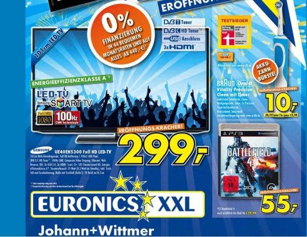 Samsung 40EH5300 299,- / elektr. Zahnbürste 10,- Nähe Düsseldorf