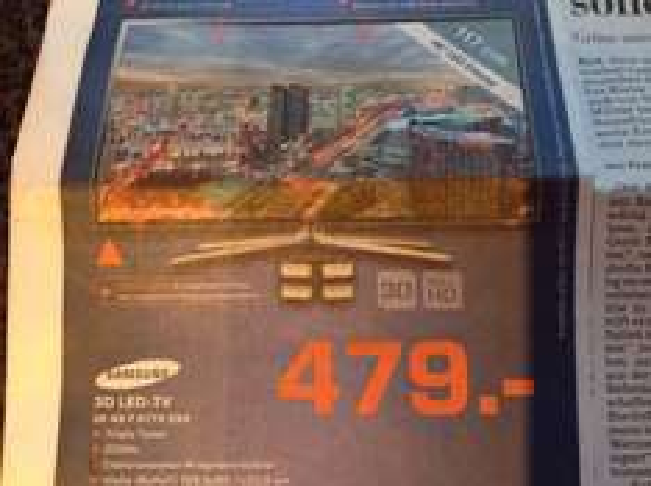 [Kiel Saturn] Samsung 3D UE 46 F 6170 SSX LCD-TV für 479 Euro (inkl. 2 3D-Brillen)