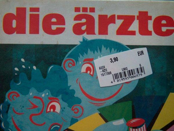 (lokal) Mediamarkt Eschweiler- die ärzte / auch-  CD 3,90€
