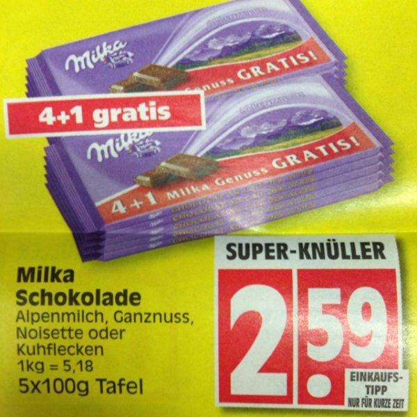 Milka 4+1 @ Edeka (Bundesweit?)