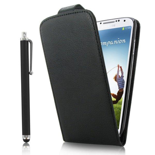 Samsung S4 Hülle Ledertasche Case Etui Schutzhülle + Eingabestift (Amazon Marketplace) 2,01EUR