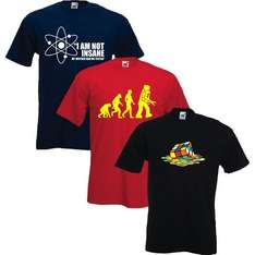 Big Bang Theory T-Shirts Triple Pack (S-XXXL) für 19,99 €