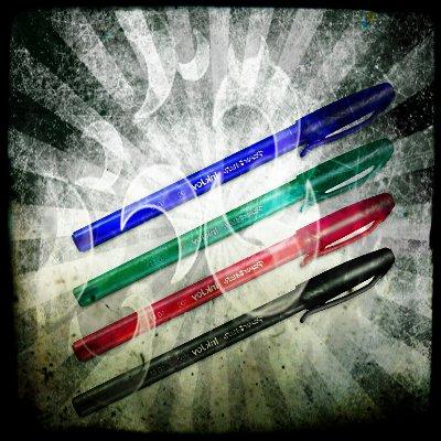 4 Kugelschreiber zu 0,57€ inkl. Porto