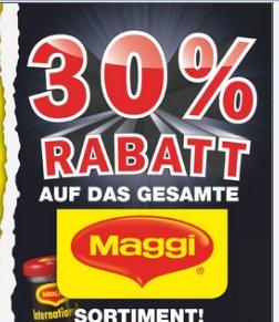 Bundesweit: 30% auf das gesamte Maggi Sortiment @ Netto Marken-Discount