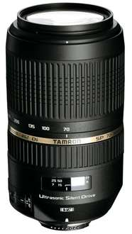 Tamron SP AF 70-300mm f4.0-5.6 Di VC USD [Nikon]  für 245,44 € @Amazon.fr