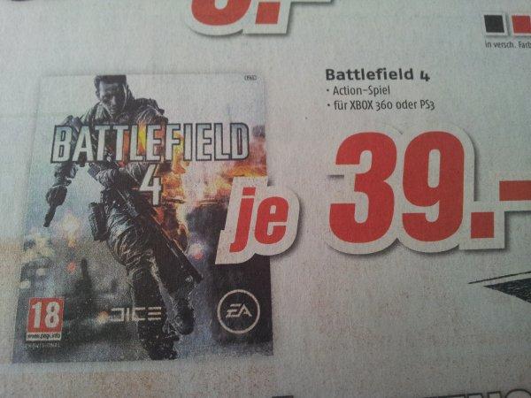 [lokal] MediMax Gera -  Battlefield 4 (xBox360 &  PS3)