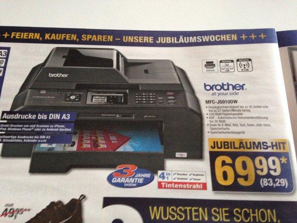 [LOKAL/METRO] MFC-J5910DW Multifunktionsdrucker für 83,29€ ab dem 07.11.