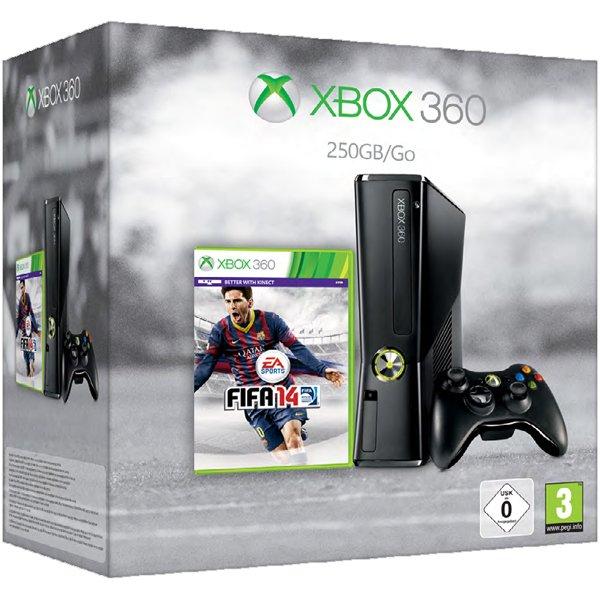 Microsoft™ - Xbox 360 Konsole Slim 250GB + Fifa 14 für €184,89 [@Notebooksbilliger.de]