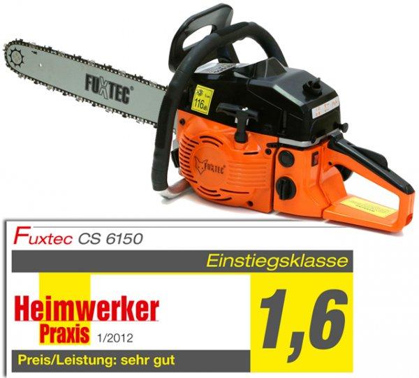 FUXTEC Benzin Kettensäge Modell CS6150 für 79,90€