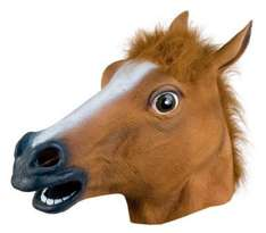 Maske HORSE HEAD - für das Pferd in dir!