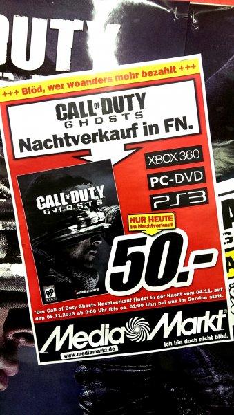 Call of Duty Ghosts - Nachtverkauf im MM Friedrichshafen