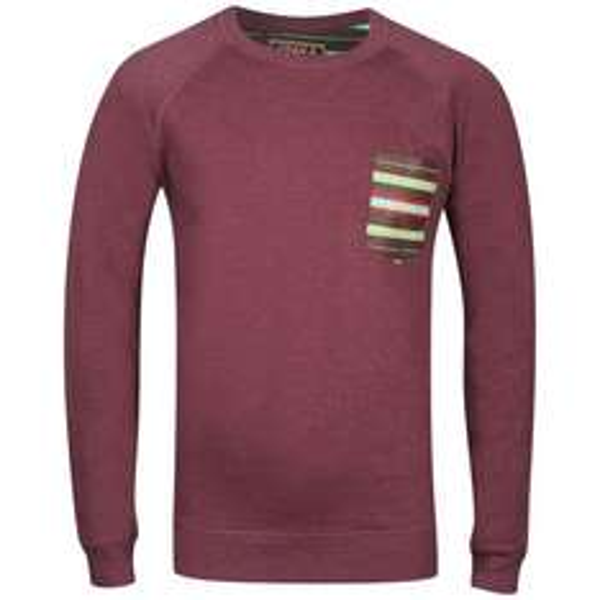 [Zavvi] Osaka Herren Sweatshirt - Burgundy für 9,75€