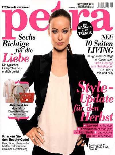 """Abonnement der """"Petra"""" für 38,40€ + 40€ Butlers Gutschein"""