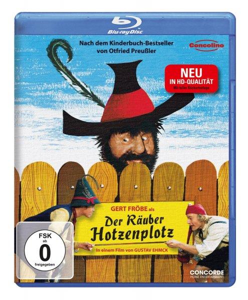 Gert Fröbe - Der Räuber Hotzenplotz (inkl. Stickerbeilage) [Blu-ray]  @Amazon
