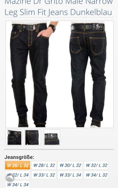 """Mazine Jeans schwarz bei Hoodboyz für 10€ statt """"80€"""""""