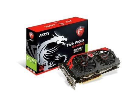 MSI N770 TF 4GD5/OC  4GB GDDR5 GTX 770 + 3 Spiele