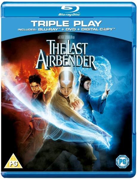 (UK) The Last Airbender: Triple Play (Includes Blu-Ray, DVD and Digital Copy) für ca. 4.89€ @ Zavvi (und viele mehr)