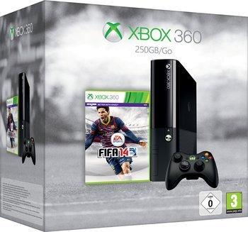 Microsoft Xbox 360 S 250GB + FIFA 14 für 179,90 Euro bei Notebooksbilliger