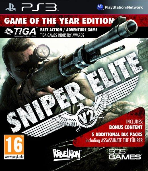[PS3] Sniper Elite V2 Game of the Year 2013 (UNCUT) inkl. Vsk für 17,84 € @ amazon.uk Blitzdeal !